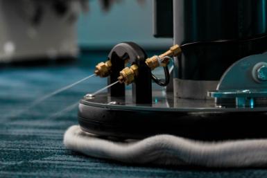čištění koberců s nízkou vlhkostí