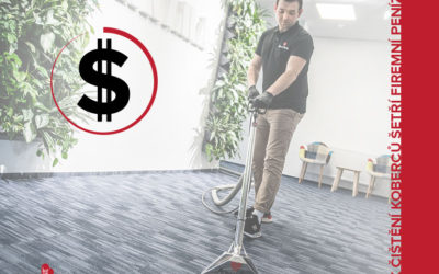 Jak čištění koberců šetří firemní peníze?